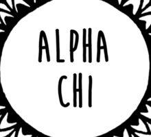 Alpha Chi Sticker