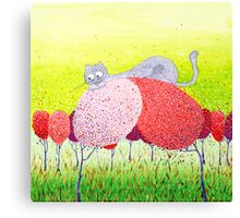 Spring's games Canvas Print