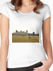 Pittsburgh Wildlife Women's Fitted Scoop T-Shirt