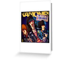 ROCK N' ROLL VINTAGE POSTER Greeting Card