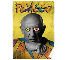 Picasso (Modern Art Style) Poster
