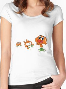 The amazing world gumball - gumball Women's Fitted Scoop T-Shirt