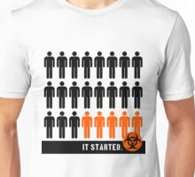 It started (Pandemic) Unisex T-Shirt