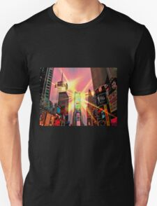 Spotlight on Times Square Unisex T-Shirt