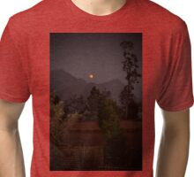 """""""Look at the moon!""""  Tri-blend T-Shirt"""