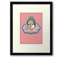 Bored Angel Framed Print