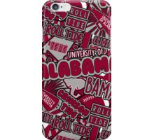 University of Alabama iPhone Case/Skin