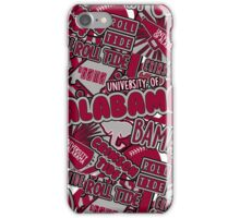University of Alabama iPhone Case/Skin