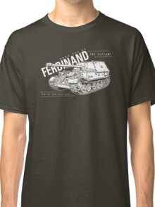Ferdinand Tank Destroyer  Classic T-Shirt