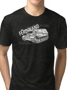 Ferdinand Tank Destroyer  Tri-blend T-Shirt
