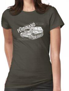 Ferdinand Tank Destroyer  Womens Fitted T-Shirt