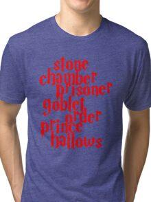 Stone Chamber Prisoner Character Tri-blend T-Shirt