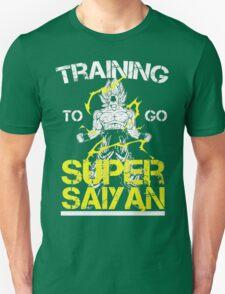 Training to go super saiyan official T-Shirt