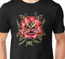 Rose Tattoo Unisex T-Shirt