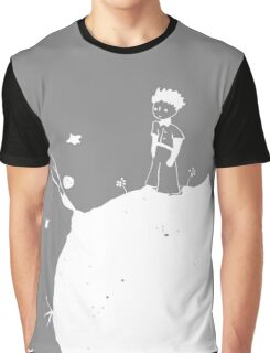 The Little Prince White Graphic T-Shirt