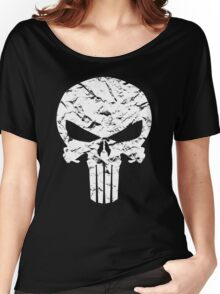 Punisher Logo Women's Relaxed Fit T-Shirt