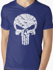 Punisher Logo Mens V-Neck T-Shirt