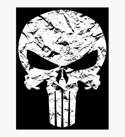 Punisher Logo Photographic Print