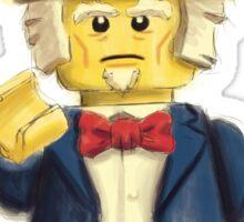 Lego Uncle Sam Sticker