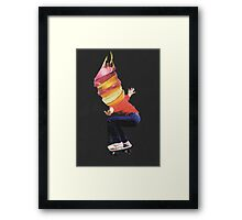 Stay young Framed Print