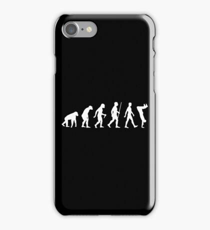 Human Evolution Parkour Evolution iPhone Case/Skin