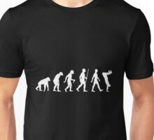 Human Evolution Parkour Evolution Unisex T-Shirt