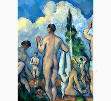 1890 - Paul Cezanne - Bathers Unisex T-Shirt