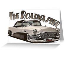 1955 Buick Roadmaster - Black Greeting Card
