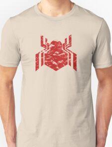 Spiderman Logo - Civil War (Red) Unisex T-Shirt