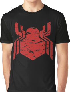 Spiderman Logo - Civil War (Red) Graphic T-Shirt