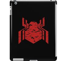 Spiderman Logo - Civil War (Red) iPad Case/Skin