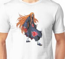 Red Hair Red Clouds Unisex T-Shirt