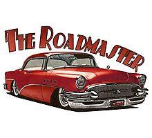 1955 Buick Roadmaster - Red 4 Photographic Print