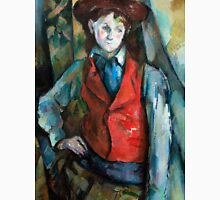 1890 - Paul Cezanne - Boy in a Red Waistcoat Unisex T-Shirt