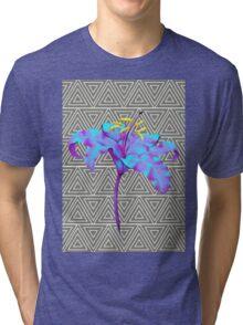 Geometric Lily Tri-blend T-Shirt
