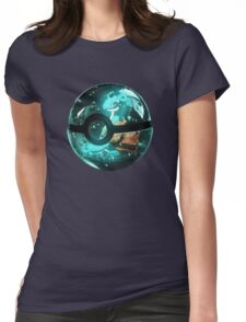 Pokeball - Lapras Womens Fitted T-Shirt