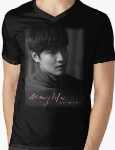 Lee Min Ho Mens V-Neck T-Shirt