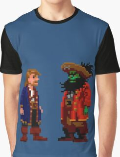 Guybrush & LeChuck (Monkey Island 2) Graphic T-Shirt