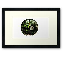 Pokeball - Sceptile Framed Print