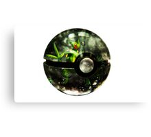 Pokeball - Sceptile Canvas Print