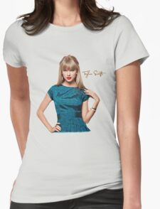 Taylor swift 0026 Womens Fitted T-Shirt