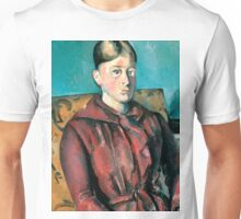 1890 - Paul Cezanne - Madame Cézanne In A Yellow Armchair Unisex T-Shirt