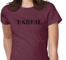 Unreal (Breasts) Womens Fitted T-Shirt