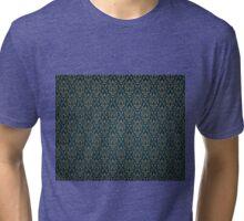 Vintage Seamless Pattern Tri-blend T-Shirt