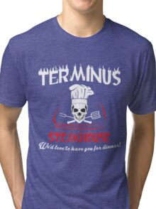 Terminus Steakhouse Tri-blend T-Shirt