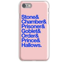 Deatahly Hallows Quotes iPhone Case/Skin