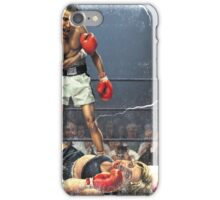KNOCKED DOWN iPhone Case/Skin