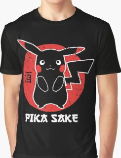Pika Sake Graphic T-Shirt