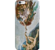 The Creation of Schmidt (no frame) iPhone Case/Skin