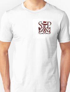 SKULDUGGERY RED/BLACK LOGO Unisex T-Shirt
